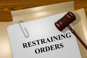 illustration of Restraining Orders title on Legal Documents