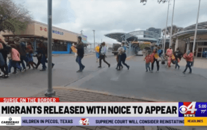 News Footage - Some Migrants are Being Released Without a Court Date