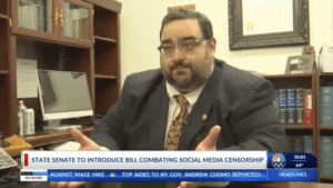 State Senate to Introduce Bill Combating Social Media Censorship - Barrera on the news